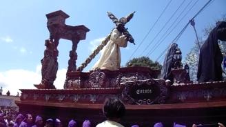 Salida de la Procesión de Jesús de Santa Inés del Monte Pulciano 2014 (53)